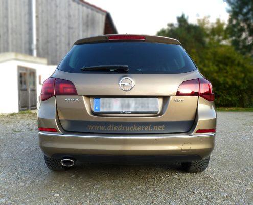 Die Druckerei, Opel Heck