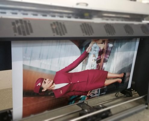 Druck - Stewardess