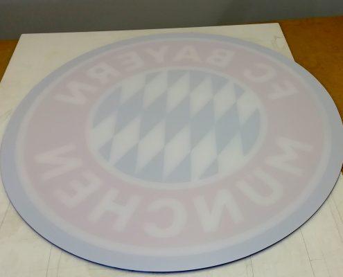 FCB-Scheibe Rückseite
