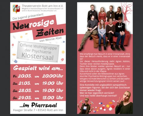 Flyer Neurosige Zeiten