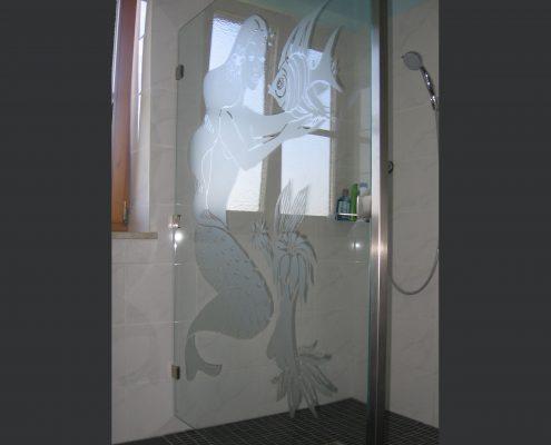 Meerjungfrauen-Dusche