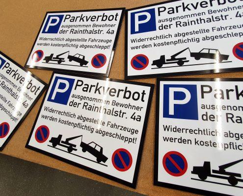 Parkverbotx5
